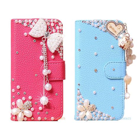 Handcrafted Phone Cases - handmade phone cases bling rhinestone for