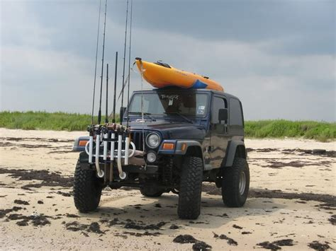 Jeep Fishing Pole Holder 166 Best Jeep Images On Jeep Stuff Jeep Mods