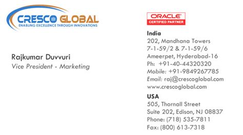 oracle business card template oracle business card choice image business card template