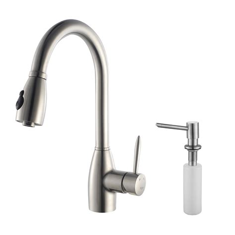 gooseneck kitchen faucet with pull out spray wow