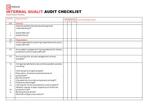 iso 9001 forms templates free 15 audit checklist templates sles exles