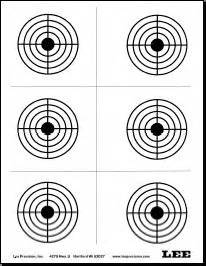 printable precision targets free printable shooting targets kids craft pinterest