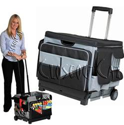 new memory stor rolling organizer pull cart office