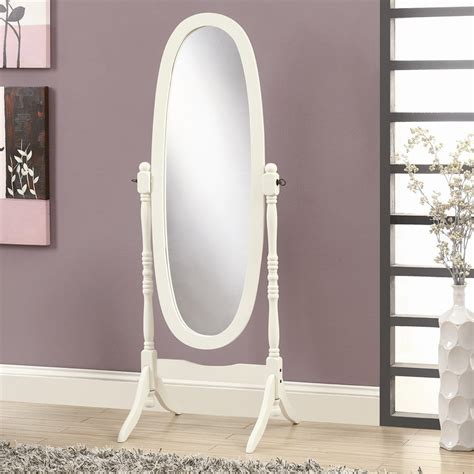 Monarch Specialties I 3102 Oval Cheval Mirror   Lowe's Canada