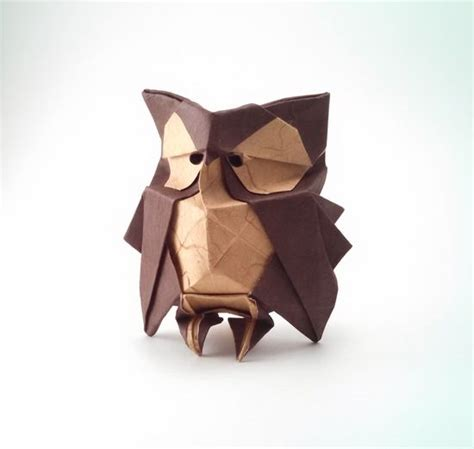 origami paper owl 59 best corujas origami images on owls