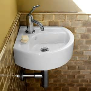 small bathroom corner sinks small ada compliant sink wayfair