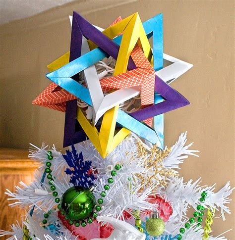 Origami Tree Topper - from like to tree topper