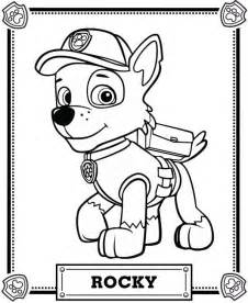 rubble paw patrol coloring page paw patrol coloring coloring pages