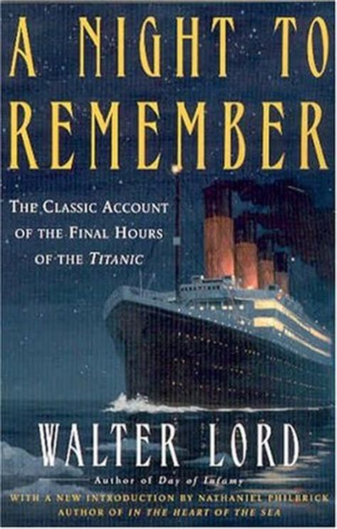 themes of book night titanic nonfiction shelf