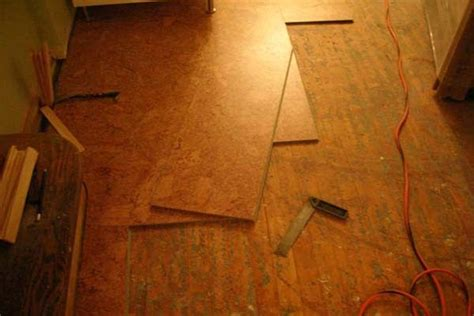 the easy ways to install cork flooring tiles by yourself