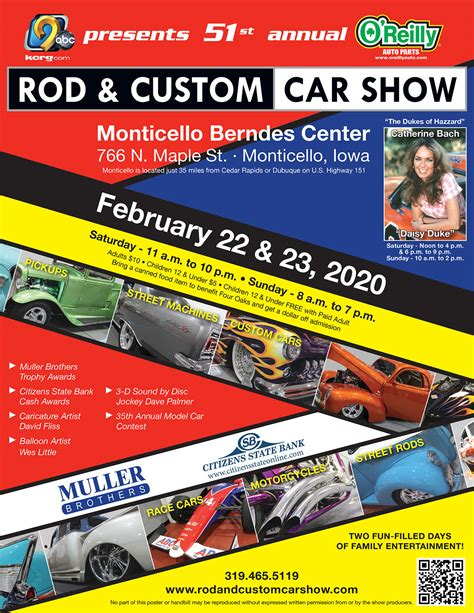 rod  custom car show monticello iowa february