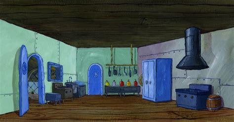 amie chan krusty krab kitchen