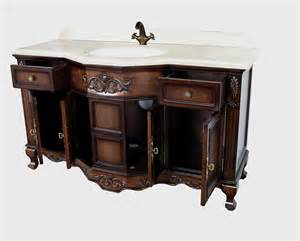 60 Inch Antique Bathroom Vanity Montage Antique Style Bathroom Vanity Single Sink 60 Quot