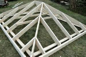 How To Build A Hip Roof one project closer
