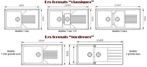 Evier Cuisine Dimension by Creastyl Idees Nos Eviers Et Cuves Pour Votre Cuisine
