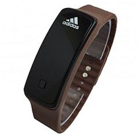adidas jam tangan digital buy jam tangan pria hitam gold karet digital