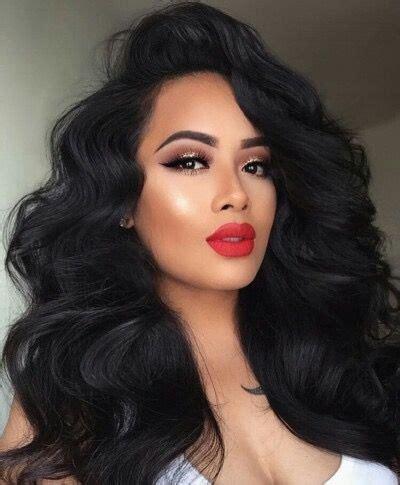 long dark hair with volume pinterest 25 best ideas about volume hairstyles on pinterest