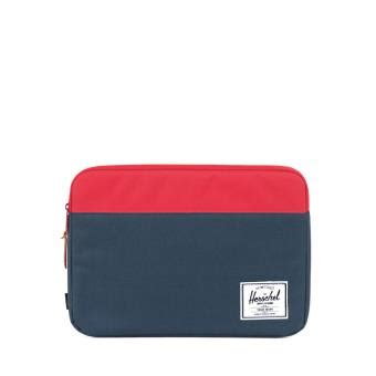 Herschel Macbook Tas housse herschel anchor sleeve pour macbook 13 quot marine fnac be tas voor laptop