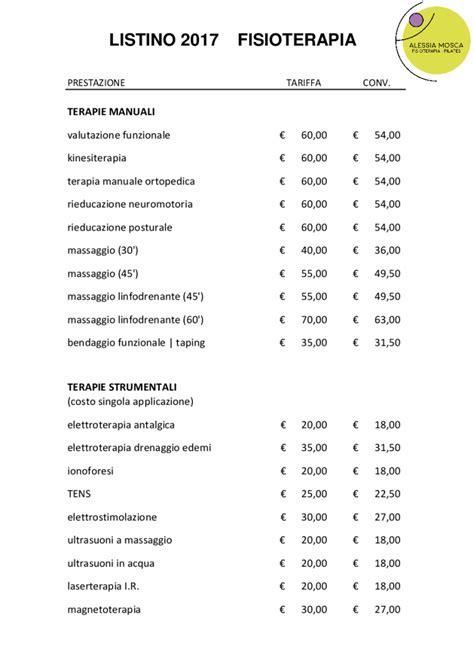 Tecarterapia Prezzi Sedute by Costo Seduta Di Fisioterapia Idee Per La Casa
