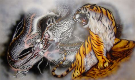 tiger tattoo hd wallpaper airbrush art by kisamake on deviantart