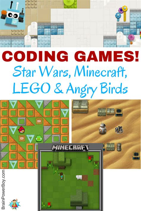 coding play coding wars minecraft lego and angry birds