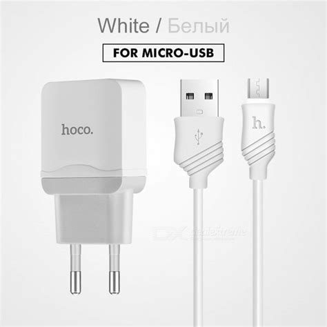 Hoco Universal Travel Socket Charger Power Adapter Ac1 hoco universal 5v 2 4a usb charger adapter with charging cable eu portable wall travel