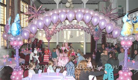 disney themed decorations princess birthday theme ballooninspirations