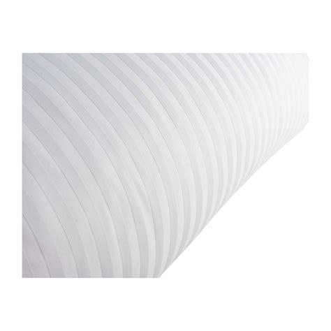 Housse De Couette Satin Blanc by Sateen Stripe Housses De Couette Blanc Tissu Habitat