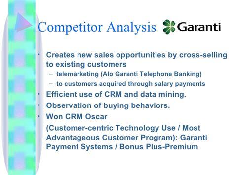 program garanti bank cross selling opportunities in banking industry