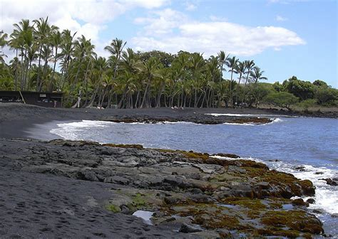 black sand island black sand beach big island hawaii flickr photo sharing