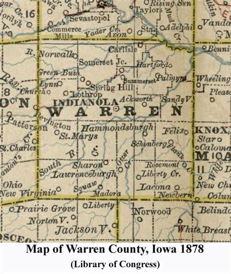 Warren County Records Warren County Iowa Map Kansas Map