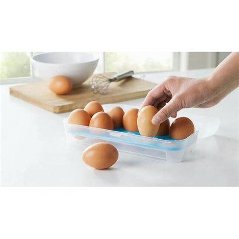 Kotak Telur 2 Tingkat Box Telur kotak telur egg box organizer isi 10 telur praktis elevenia