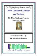 witch and wardrobe novel literature unit study and