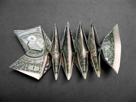 Fish Money Origami - 1235 best images about folded money on dollar