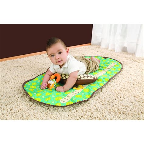 Infantino Mat by Infantino Vintage Tummy Time Mat Kiddies Kingdom