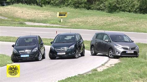 Opel Meriva Toyota Verso