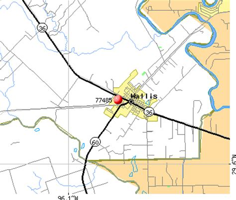wallis texas map 77485 zip code wallis texas profile homes apartments schools population income