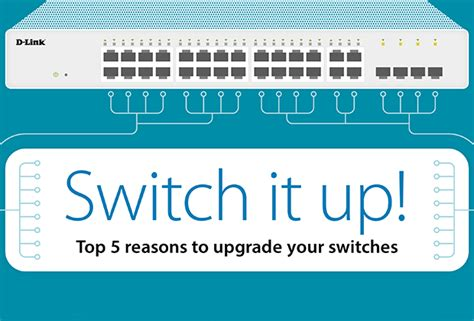 Switches It Up by Top 5 Reasons To Upgrade To Managed Switches D Link