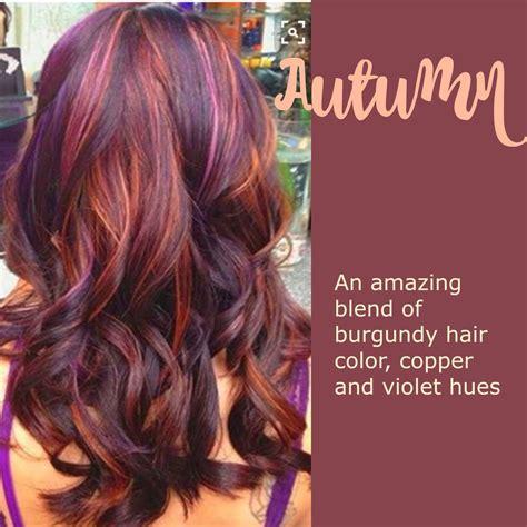 fall color hair autumn leaves hair color leaves autumn