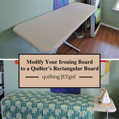 Wide Ironing Board For Quilting by How To Modify Your Ironing Board Into A Rectangular