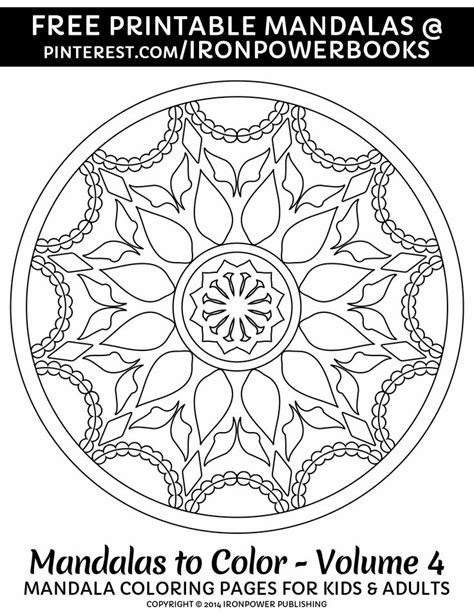 mandala coloring pages for relaxation pin by ironpower publishing on mandalas for relaxation and