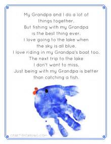 This fishing with grandpa poem printable to give him for father