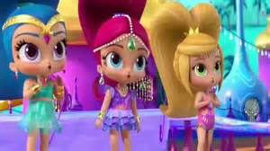 shimmer and shine freeze amay falls youtube