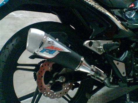 Home Racing Cdi Dual Band Supra Grand variasi motor knalpot racing muffler