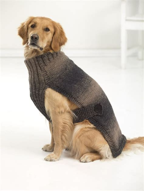 pattern for a large dog coat hunter s urban dog sweater knit beautiful yarns and