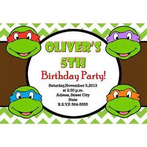 turtles invitation turtles birthday digital file printable