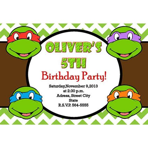 Turtle Birthday Card Template by 27 Images Of Turtle Birthday Card Template