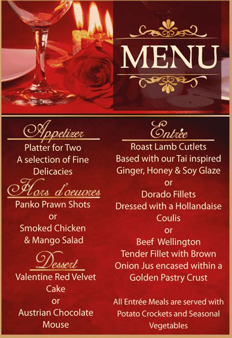 valentines dinner specials hartbeespoort special offers discounts deals and