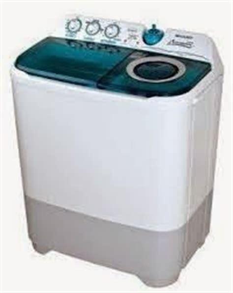 Mesin Cuci Sharp Aquamagic 8kg cara membetulkan mesin cuci yang air nya tersumbat buku