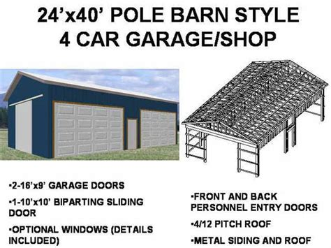 pole barn house plans blueprints pole barn plans free shed plans and blueprints